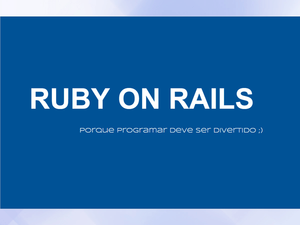 Ruby on Rails FLISOL