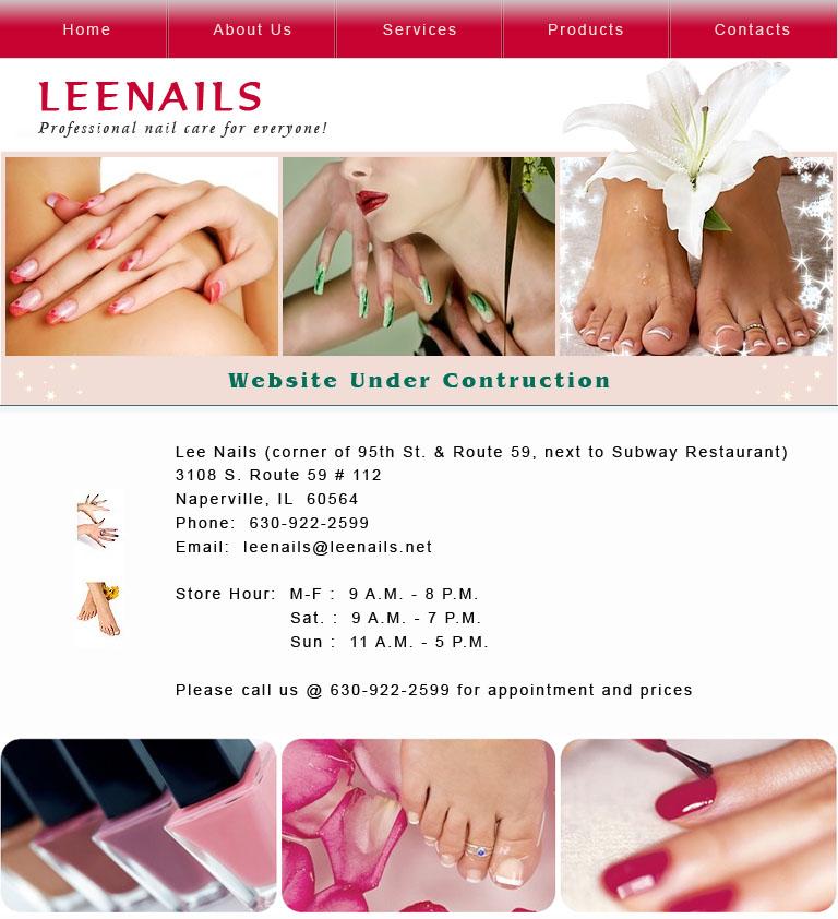 Lee nails naperville