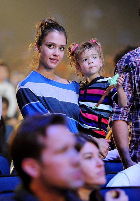 Стиль звездных детей: дочки Джессики Альбы– Онор и Хэвен
