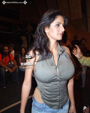 Katrina Kaif Unseen Huge Boobs Seen