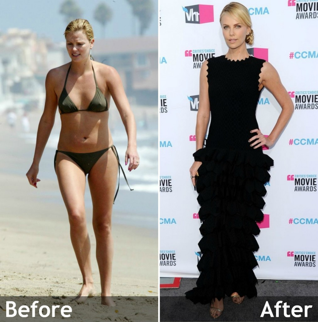 Charlize theron weight loss after monster