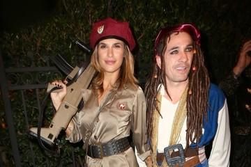 Elisabetta Canalis Celebrities Attend the Casamigos Halloween Party