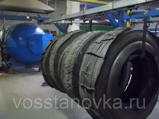 Купить оборудование для восстановления шин холодным способом