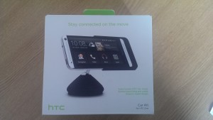 HTC One Car Kit Box