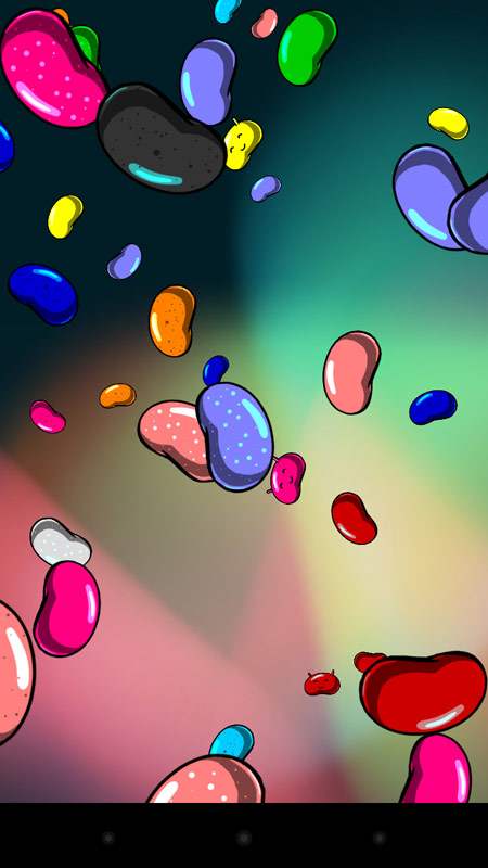 Jelly Bean Easter Egg in Action