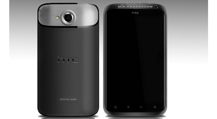 The rumoured design of the HTC Endeavor (sic)