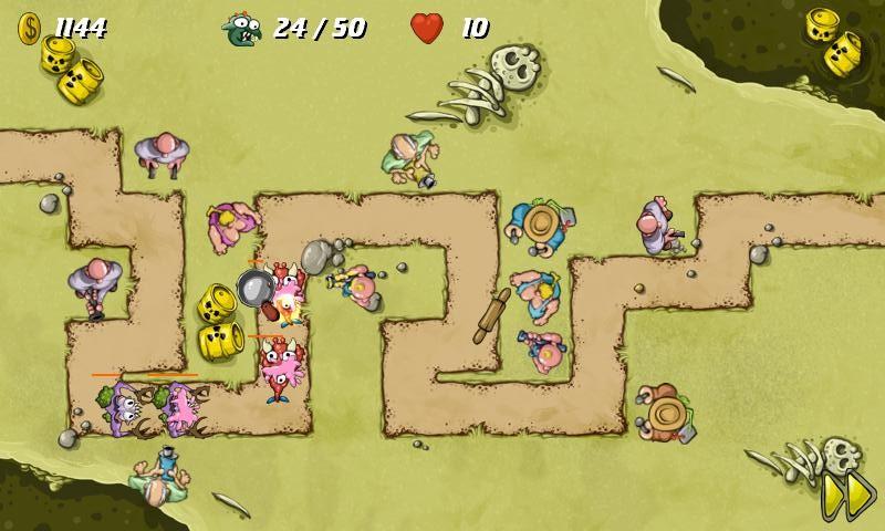 Swamp Defense Gamepley