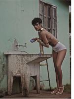 Новые фото Рианны для Vogue Brazil