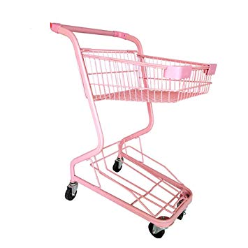 Shopping trolley pink