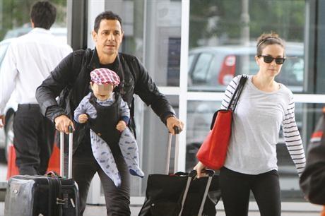 Фото натальи орейро сейчас с мужем и ребенком