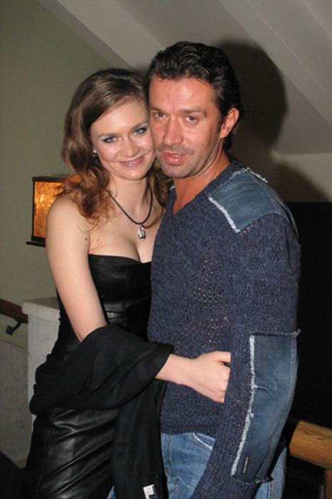 Владимир Машков с дочерью, актрисой Марией Машковой. / Фото: www.woman.ru