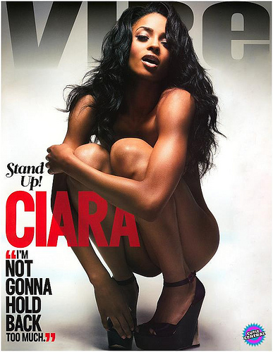 Ciara on vibe magazine