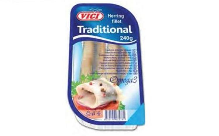 "Herring filett ""Traditional"" Vici 240g"