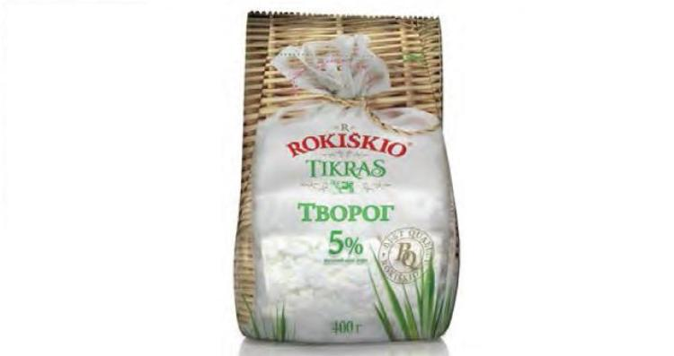 Farmer Cheese Rokiskio 5% 400g