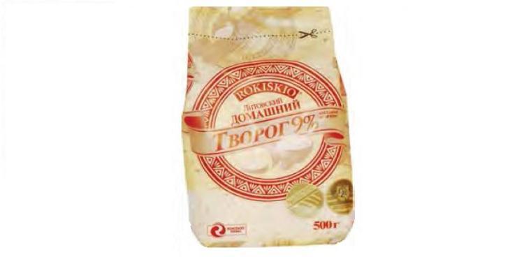 Farmer Cheese Homemade Rokiskio 9% 400g