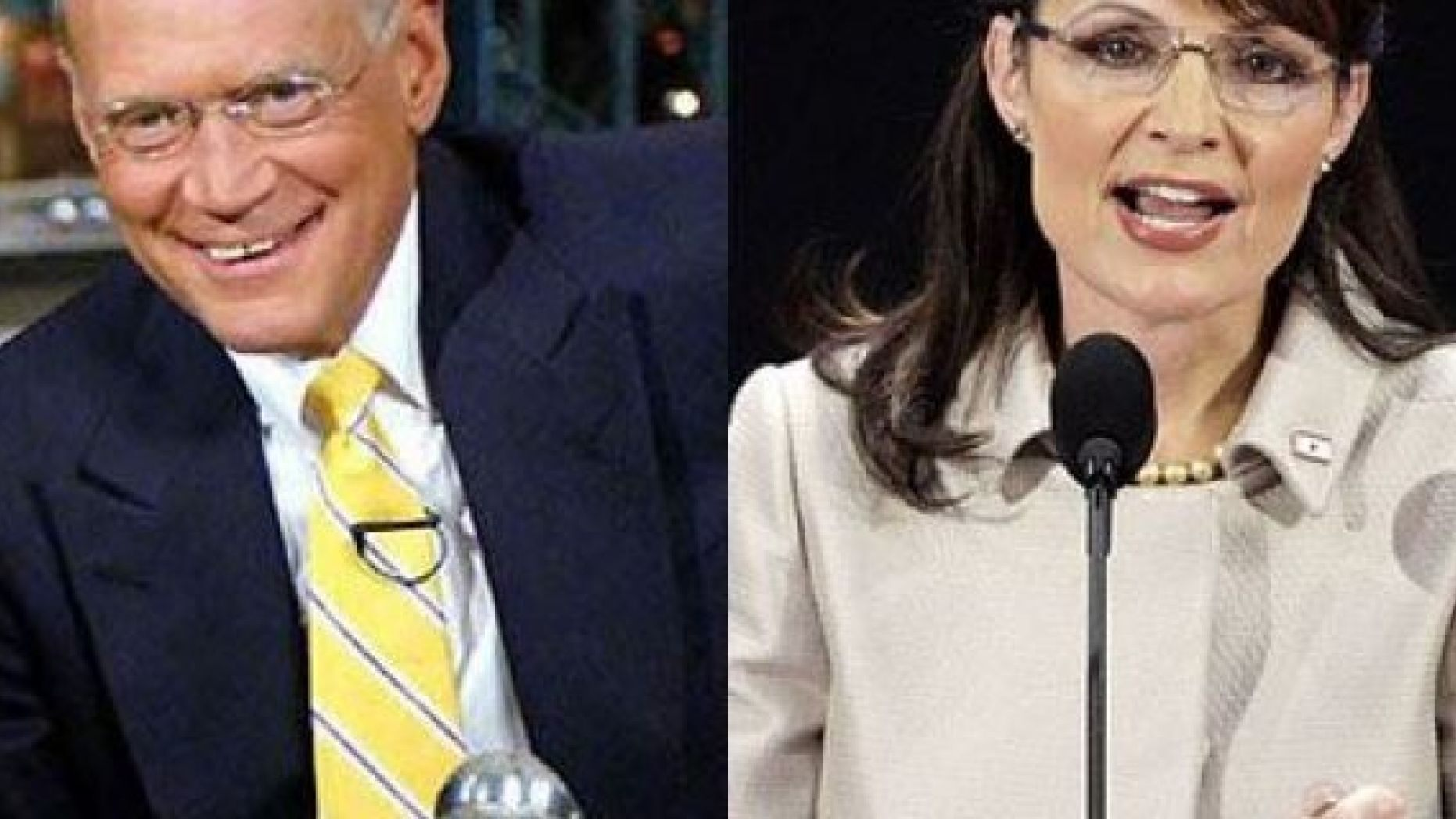 David letterman and willow palin