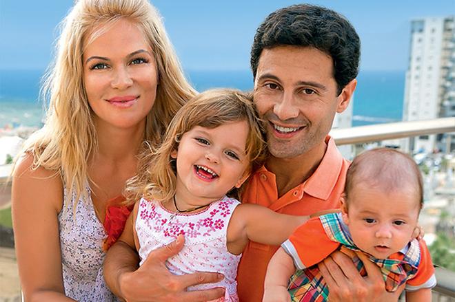 Антон макарский и его жена дети фото