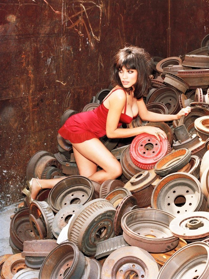 Розарио доусон фото в журнале максим