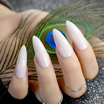 Stiletto tip nails