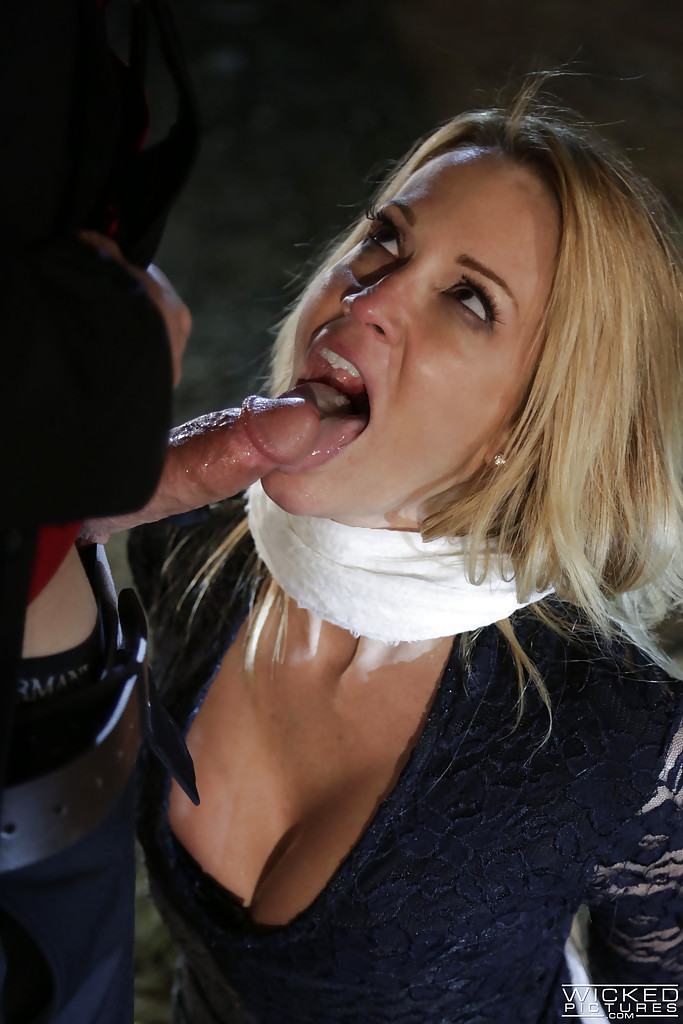 Jessica drake cum swallow