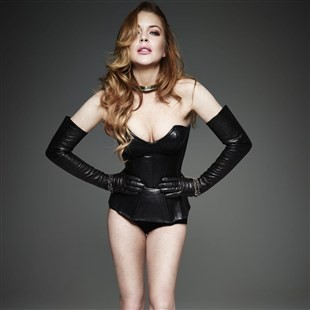 Lindsay Lohan's Saggy Tits Are The Epitome Of High Fashion