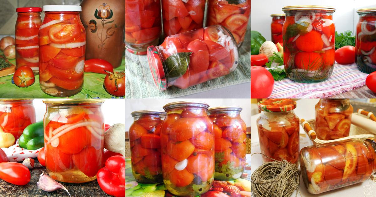 В желе помидоры