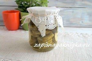 Салат из огурцов дамские пальчики на зиму