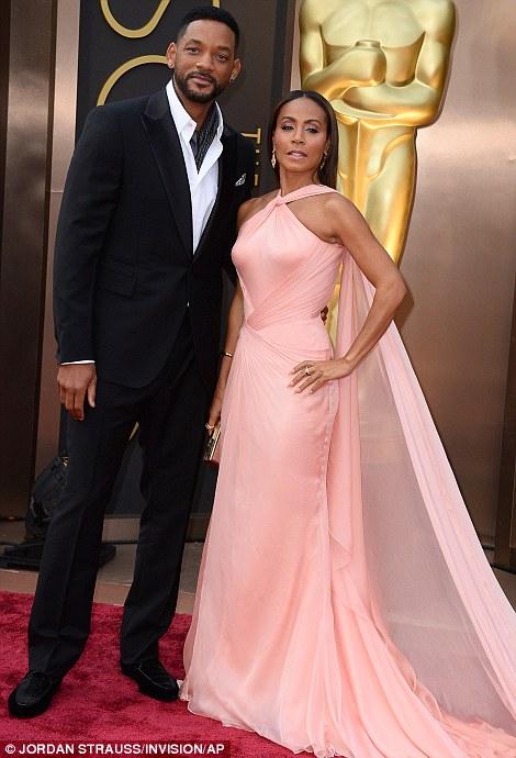 Stylish: Will Smith and wife Jada Pinkett Smith