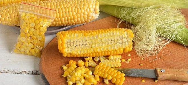 заморозка кукурузы на зиму в домашних условиях