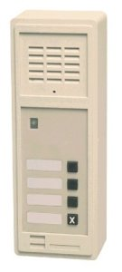 Wall Substation with 3 Direct Dial Buttons - AB709