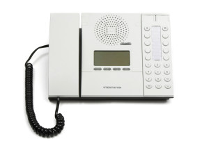 IP Desk Intercom Station with Display and Handset - 1008001000