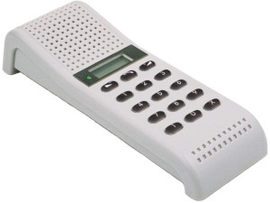 Desk or Wall Master Intercom Station with Display - AA711