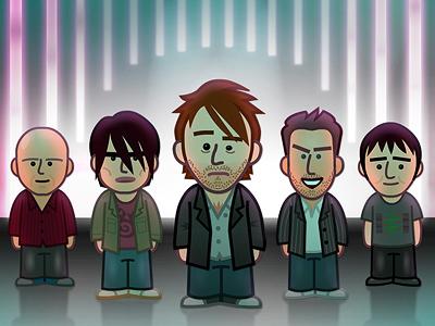 radiohead-illustration