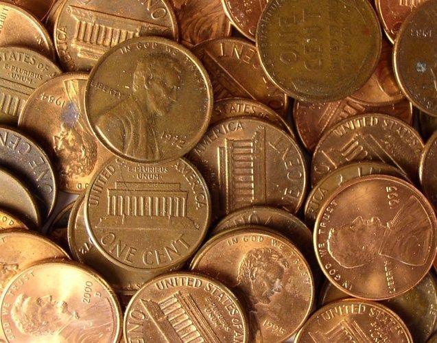 Сколько центов один доллар