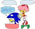 amy washing sonic LOL