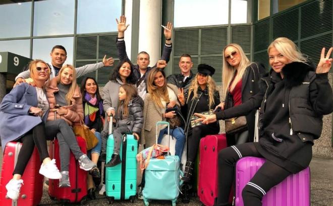 На 35-й день рождения Ксения Бородина с мужем и подругами отправилась в Милан