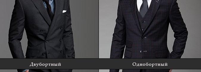 Стили костюмов мужских