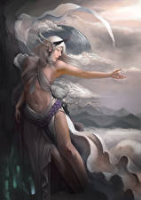 Обои голые ангелы