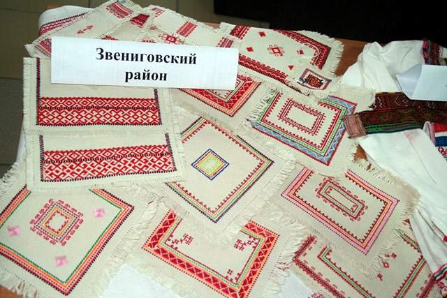 Команда Кочующие - Марийская вышивка