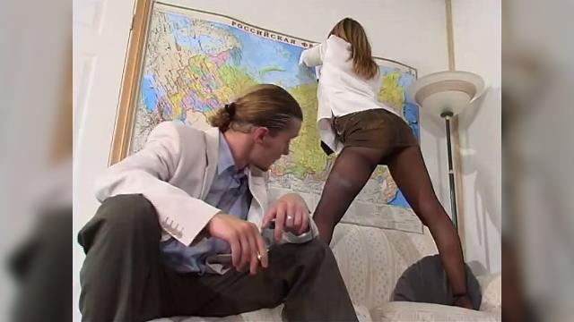 Красивые секретарши видео порно