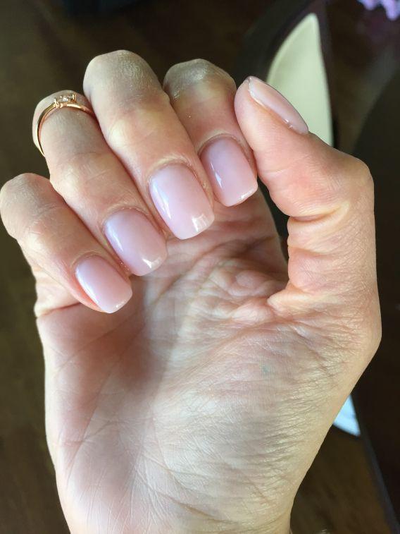 Bubble bath gel nails