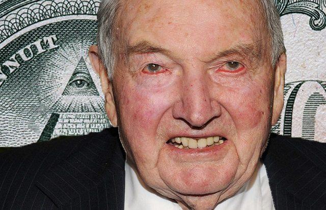 Illuminati celebrities - David Rockefeller