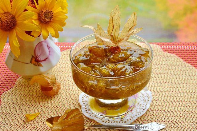 Физалис варенье рецепт с лимоном
