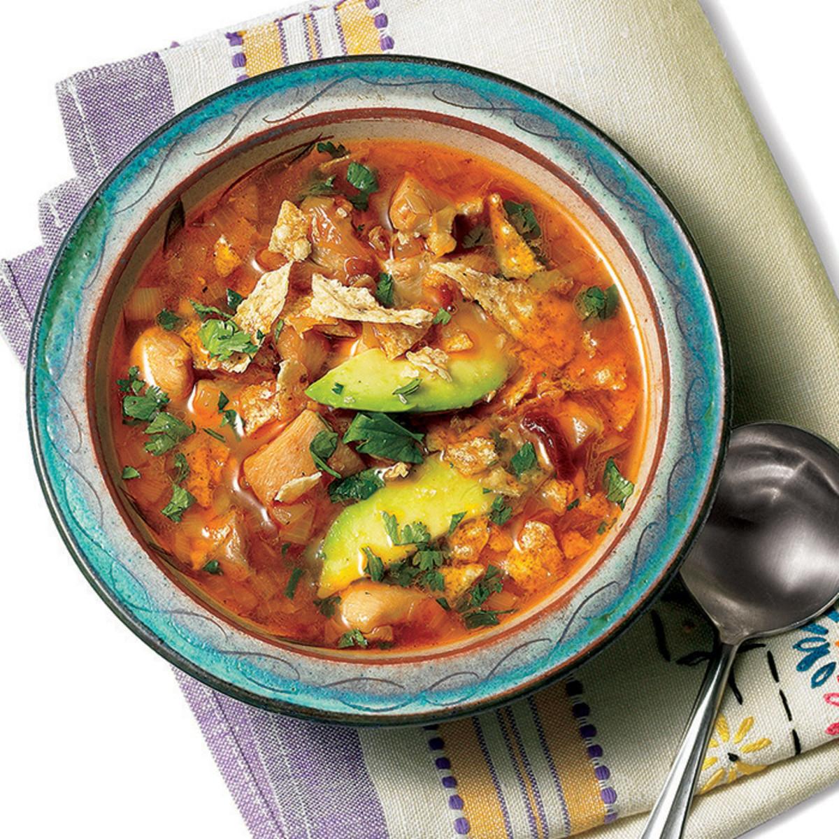 Fajita soup rachael ray