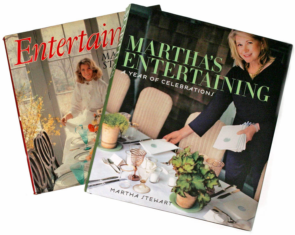 Martha stewart entertaining book 1982