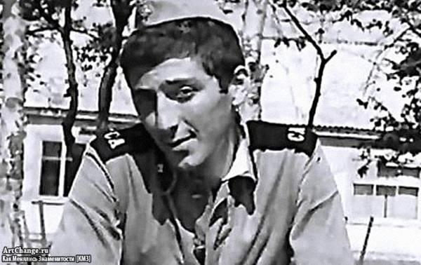 Григорий Лепс в молодости в армии