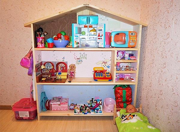 Как сделать из фанеры дом для кукол