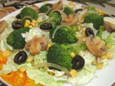 Маринованная брокколи капуста
