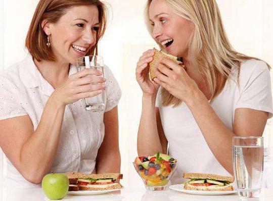 Запивать еду вредно