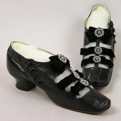 Обувь XIX века: «Принеси те самые черевички, которые носит царица, выйду тот же час за тебя замуж», фото № 12